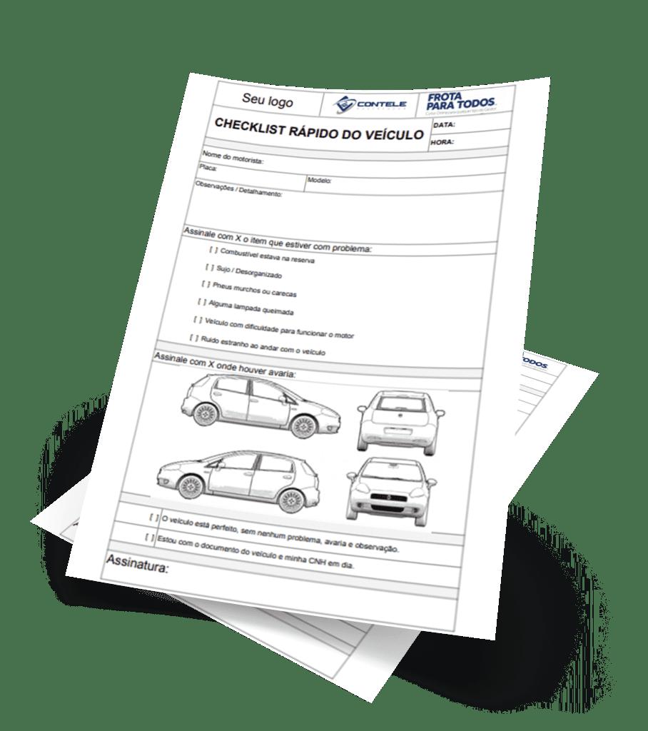 Modelo do Checklist Rápido do Veículo